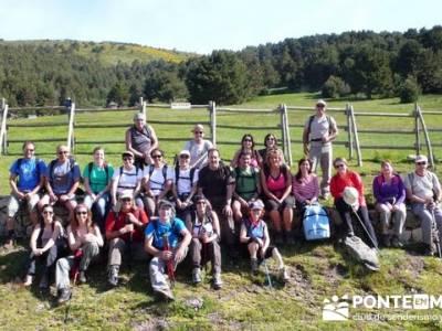 Ruta senderismo Peñalara - La Granja de San Ildefonso; senderismo por libre